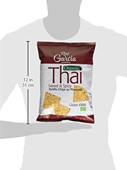 R W Garcia Thai Sweet & Spicy Organic Tortilla Chips With Flaxseed, 200g 4