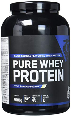 German Forge Pure Whey Protein- Banane-Joghurt, 900 g