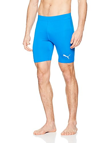 PUMA Herren Liga Baselayer Short Tight Hose, Electric Blue Lemonade, M (Herren Electric Shorts)