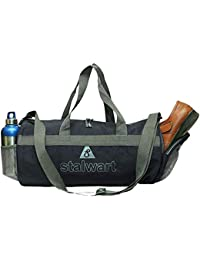 24a89a581bba Stalwart Waterproof Multipurpose 31L Polyester Duffel Sports Gym Bag for Men  Women with Shoe Compartment
