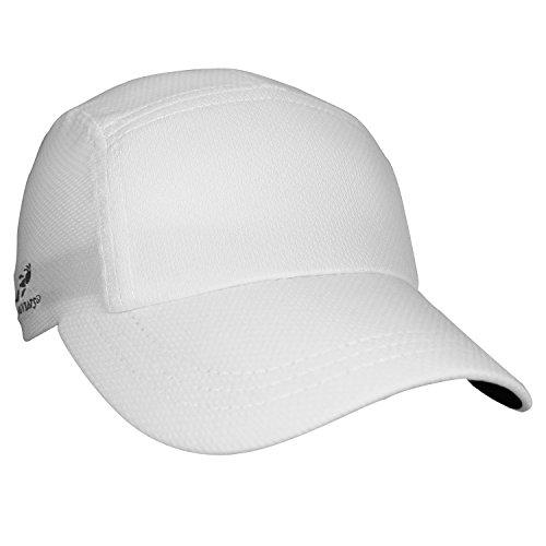 Headsweats Race Hat Running Cap Sportkappe Weiße Tennis Caps