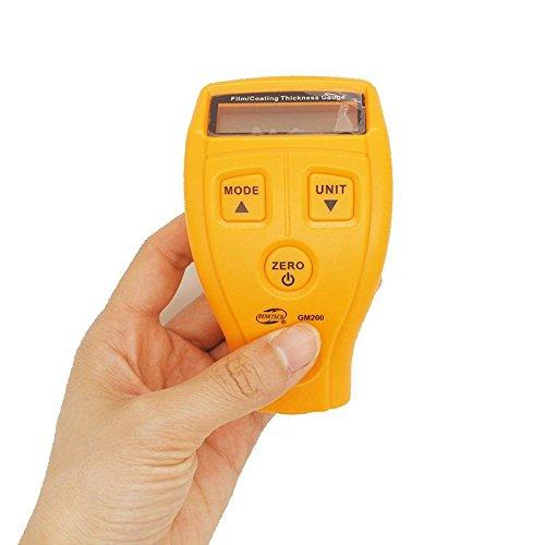 Mini-Schicht Dickenmessgerät Beschichtung Dickenmessgeräte zum Verkauf Messgerät Dicke Meter Dicke Ausrüstung Beschichtung Dicke Farbe GM200