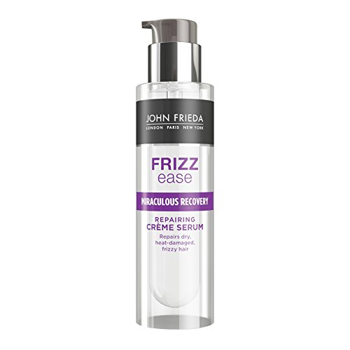 John Frieda Frizz Ease Miraculous Recovery Hair Repairing Creme Serum for Dry and Damaged Frizzy Hair, 50 ml