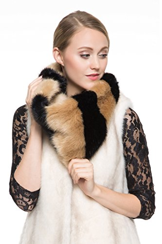 Favolosa sciarpa infinita scaldacollo Adelaqueen per donna,