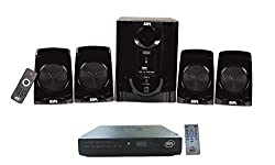 Combo of BIPL 4.1 Multimedia Home Theater System and D2H Set Top Box
