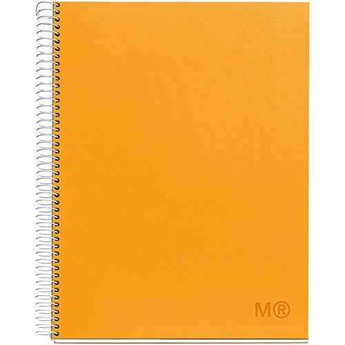 miquel-rius-bonbons-couleurs-spirale-carnet-ligne-215-cm-x-28-cm-tournesol-acrylique-multicolore