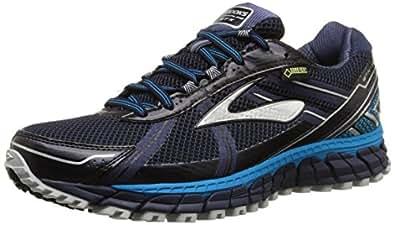 Brooks Adrenaline ASR 12 GTX, Herren Traillaufschuhe, Blau (Peacoat/AtomicBlue/Black), 42.5 EU (8 Herren UK)