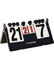 VICTOR Scoreboard - Marcador de puntuación y tiempo, color negro