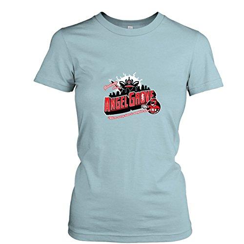 TEXLAB - Greetings from Angel Grove Red - Damen T-Shirt, Größe XL, ()