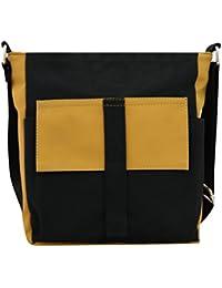 BALACHIA Sling Crossbody Bag Handbag Shoulder Bag Bookbag Messenger Bag (Unisex)