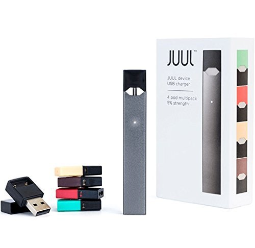 The value 'JUUL All-in-One Starter Kit' JUUL Kit - Battery with USB Charger and 4 JUUL p0d