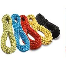 Cuerda de escalada tendon dinámica residual en diferentes longitudes de piezas Talla:4 mtr; 9.8mm