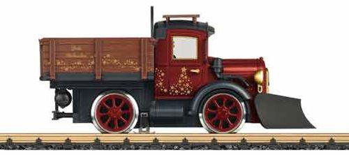 Weihnachts-Schienen-LKW von LGB