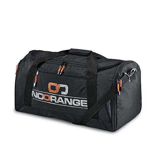 Preisvergleich Produktbild NoOrange Sporttasche schwarz,  sportliche Schultertasche für Freizeit und Reisen Tasche,  XL