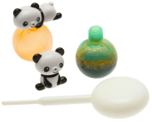 Kotobuki Panda Sauce Bottle Set for Bento Box, Mini by Kotobuki (Kotobuki-bento)