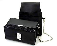 nean Kellner-Taxi-Geld-Börse-Portemonnaie mit Holster-Steck-Tasche und