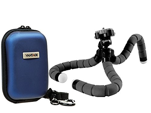 Foto Tasche Kamera Bag HC20 Set mit Flexi Reise Stativ Rollei Monkey