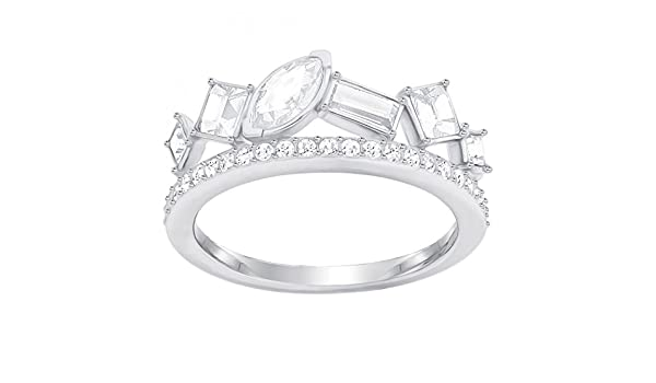 bc2109148fe Swarovski Women Stainless Steel Piercing Ring - 5351323: Amazon.co.uk:  Jewellery