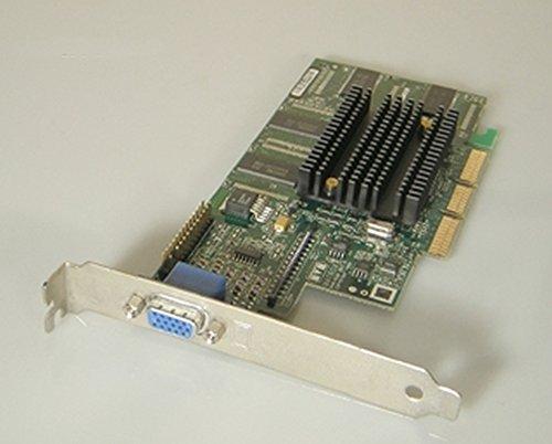 Matrox Millenium G400 G4+M4A32DG M4A32DG 32MB Grafikkarte AGP VGA D-Sub 15-pol Bulk Grafikkarte ohne Zubehör - G4 Grafikkarte