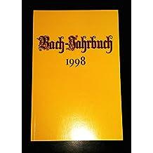 Bach-Jahrbuch 1998