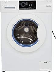 Haier 6 kg Fully-Automatic Front Loading Washing Machine (HW60-10829NZP, White)
