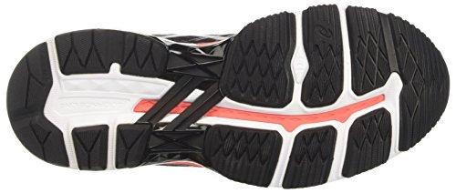 Asics Gt-2000 5, Scarpe da Ginnastica Donna Nero (Black/Carbon/Flash Coral)