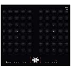 Neff T56FT60X0 plaque Noir Intégré Plaque avec zone à induction - Plaques (Noir, Intégré, Plaque avec zone à induction, Vitrocéramique, 2200 W, 190 x 240 mm)