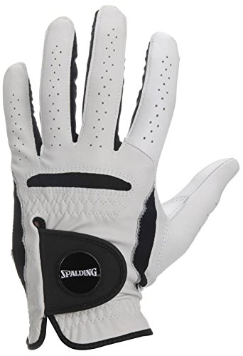 Spalding Kinder Junior Handschuh Links-Sml-Weiß, SMALL