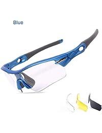 HYP Lunettes de polarisées Lunettes de conduite avec monture en métal Incassable 100% anti UV400 Aluminium Magnésium équitation sport lunettes de soleil dans les lunettes, gris, de décoloration.
