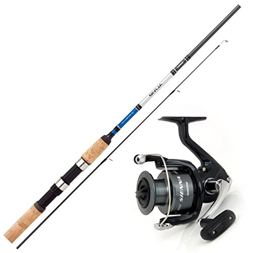 SHIMANO Allround Angelset Combo Angelrute & Angelrolle Set - Angeln NO.1