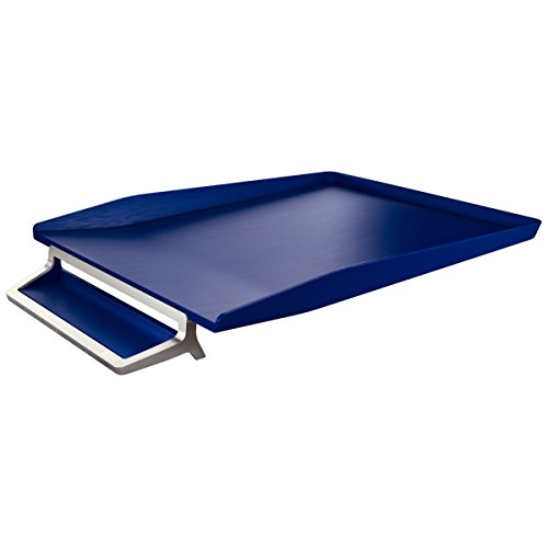 Leitz vaschetta portacorrispondenza, ABS e zinco, Formato A4, Blu titanio, Style, 52560069