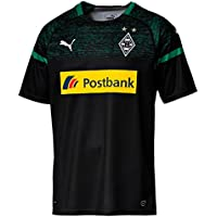 Puma Herren Bmg Away Replica with Sponsor Logo Trikot