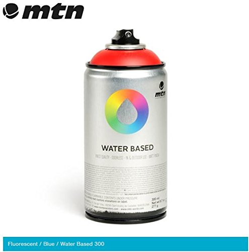 mtn-fluorescent-blue-300ml-water-based-spray-paint
