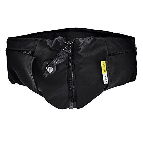 Hövding Airbag Helm 2.0, schwarz, M, 3184