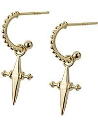 1 paar Klappbrisuren für Ohrringe Brisuren,Ohrhaken Silber S925