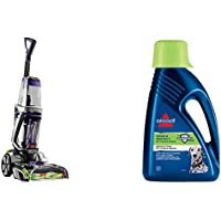 BISSELL ProHeat 2X Revolution Pet Pro Carpet Cleaner 20666 & Wash and Protect Pet Carpet Shampoo, 1.5 L