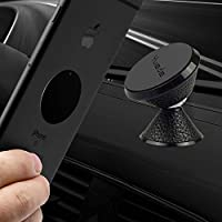 Yuede Universal Mobile Phone Holder Car Magnet, 360 ° Adjustable Smartphone Holder Car for iPhone 6 6s 7 7Plus, Samsung Galaxy S7 S8, HTC