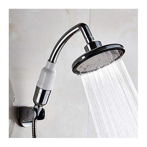 High Pressure Shower Head, Universal Bath Shower Head Handheld Handset Chrome for Bathroom