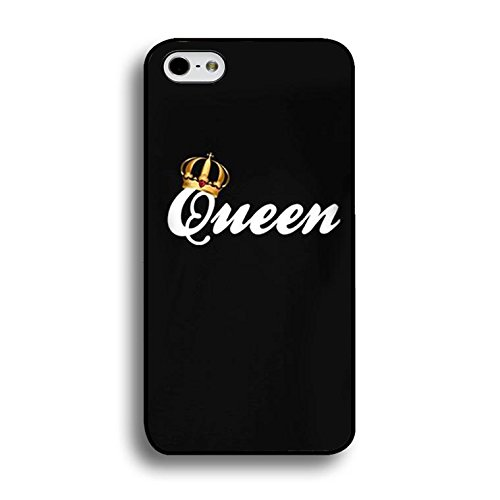 Couples Case for Iphone 7 Plus Lovely Stylish King Queen Phone Cases Fashion Hard PC Cover for Iphone 7 Plus Shell Color238d
