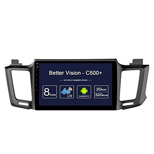 Oneday Tower C500+ 8-Core 2G 32GB Android 6.022,9cm HD Digital Mutil-Touch Big Bildschirm Fahrzeug Professional GPS Navigation für 2013–2016Toyota RAV4.