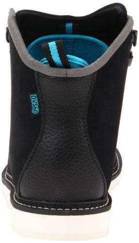 DVS Shoes Yodeler, baskets mode homme Noir - Schwarz (BLACK NUBUCK 001)