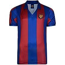 f2aa853892 FC Barcelona - Camiseta oficial de FC Barcelona retro 1992 para hombre