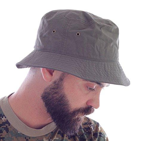 Desert imperméable Chapeau Pêcheur Hüte Kappen chapeaux bonnet coton boucle métal Baseball Cap noir