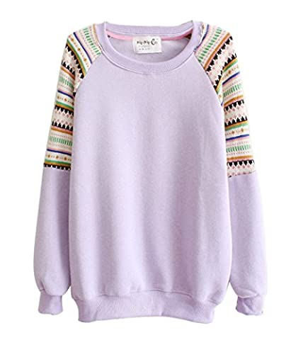 Luna et Margarita - Fleece-back Sweater with