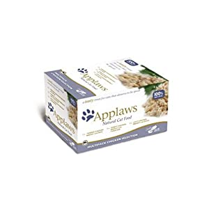 Applaws Cat Food Pot Multipack Chicken Selection, 8x60g
