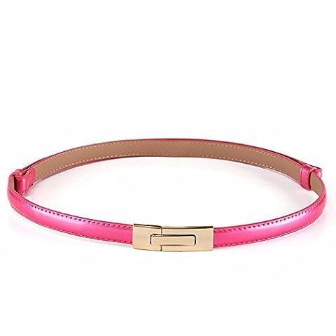LONFENNE Décoration accessoires de mode femme robe taille avec ceinture simple cuir,w,95cm