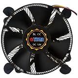 Titan DC-156V925X/RPW CPU-Kühler für Intel Sockel LGA1156/1155 (95W) schwarz