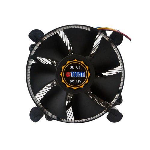 1156 Support (Titan dc-156V925X/RPW/CU25Processor Fan PC (Prozessor-Kühler, Lüfter, Socket 1155, Socket 1156, Celeron, Celeron G, Core i3, Core i5, Core i7, Pentium, Pentium Dual-Core, Xeon, Schwarz))