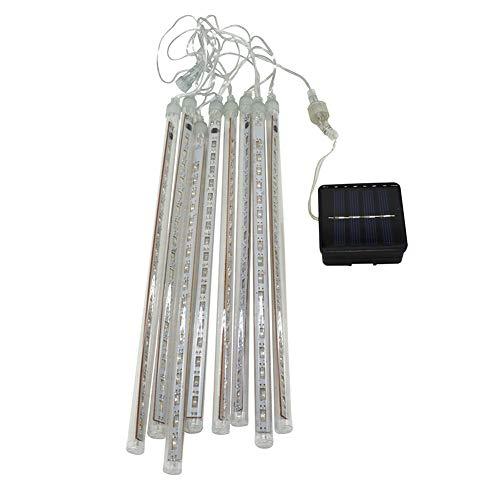 Granty Solar Lampe Meteor Dusche LED-Urlaub Lichter Im Freien Hängende Baum Meteor Dusche Dekorative Lichter Für Party Hochzeit Weihnachtsbaum Terrasse Dekoration,Coloredlight