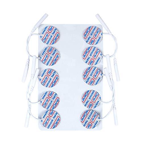 TensCare Elektroden-Set mit 30 Stück, rund, hochwertig, Durchmesser 25mm - Runde Elektroden